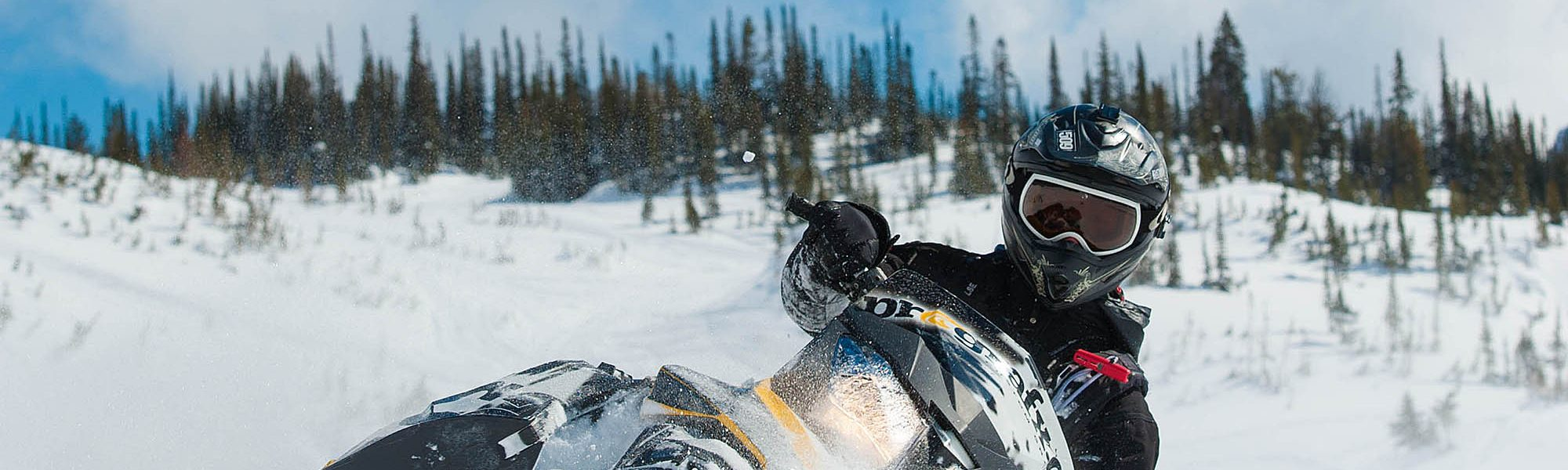 Snowmobile Tours and Rentals in Golden, BC – Rocky Mountain