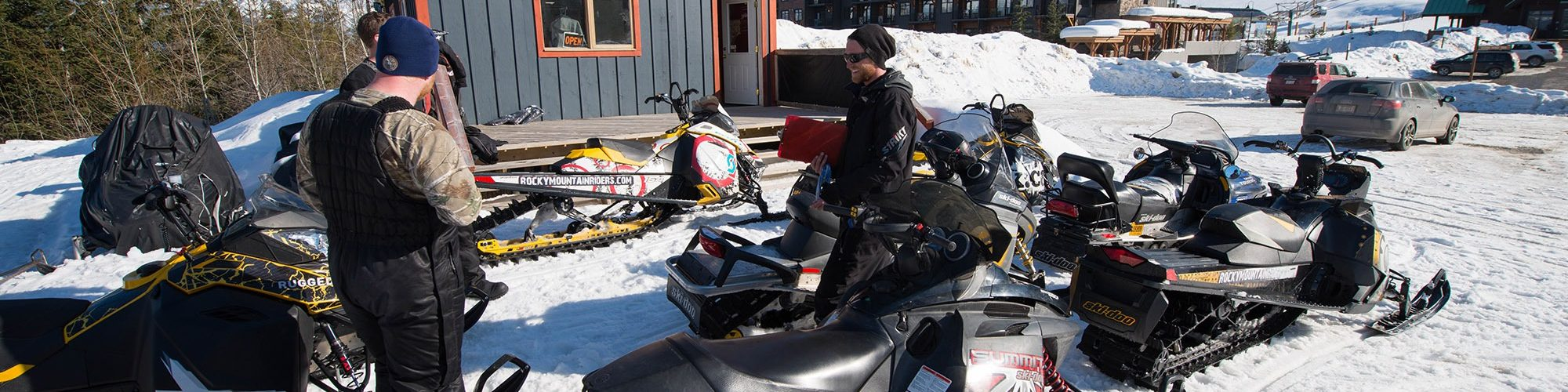 kicking horse snowmobile tours