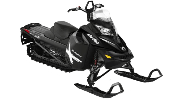 snowmobile rentals golden ski-doo summit x