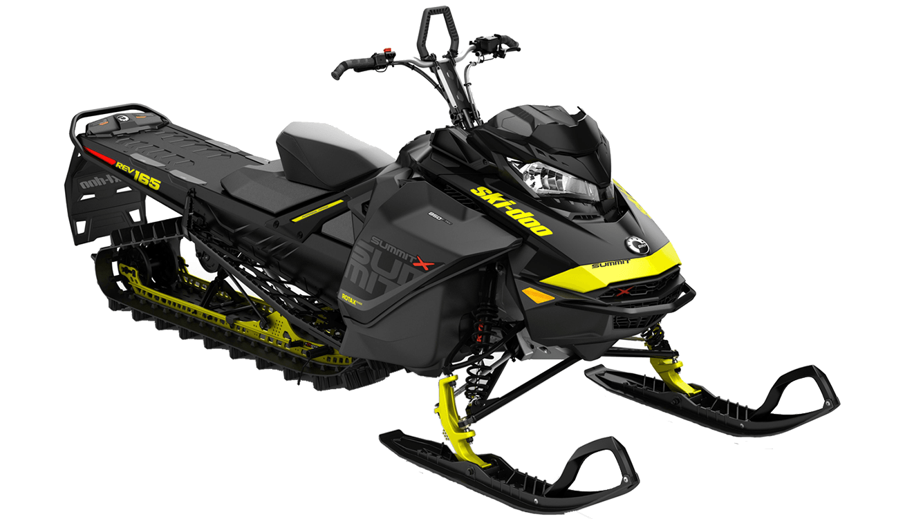 Summit X 850 sled rental in golden bc