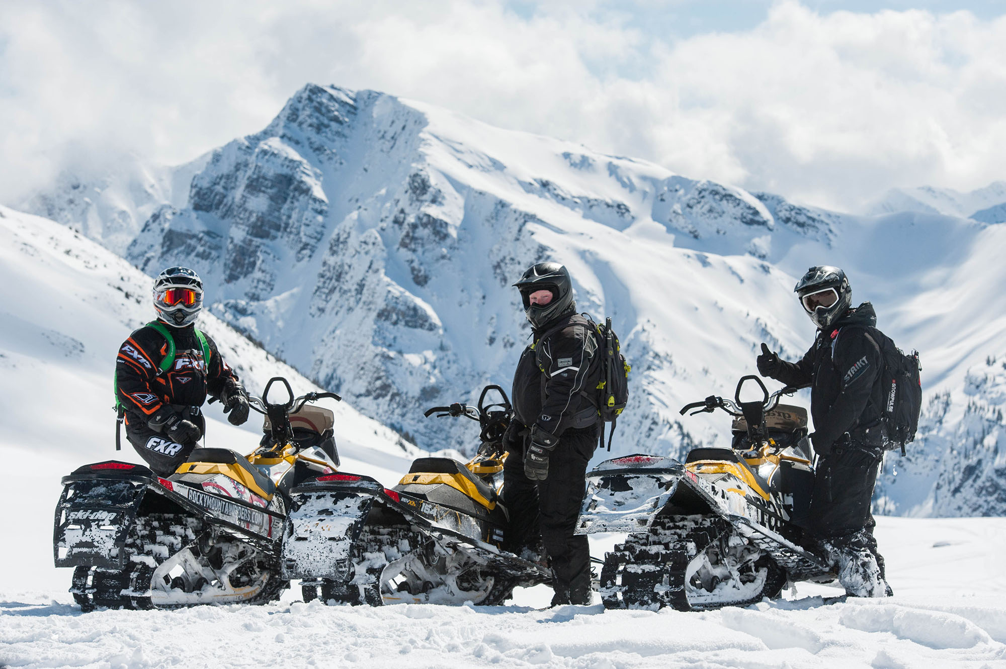 Best Side By Side Atv >> Guide Only Snowmobile Tours – Rocky Mountain Riders