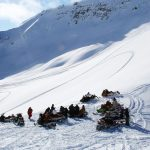 full day snowmobile tour in golden bc