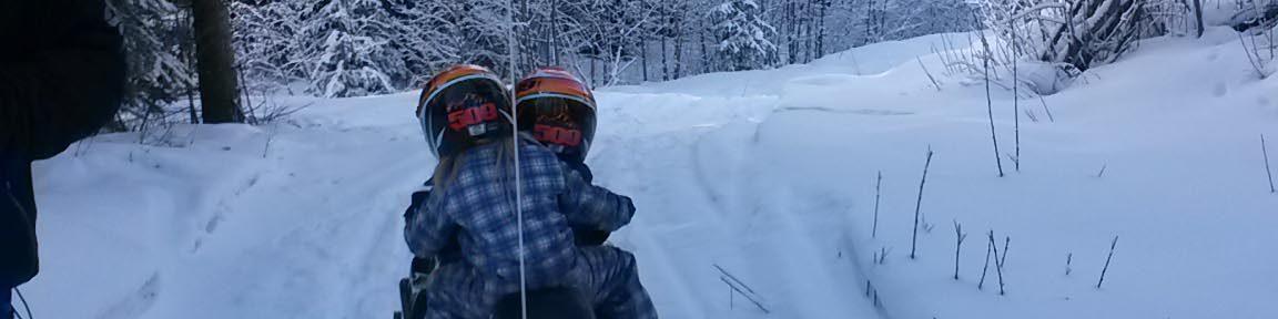 sledding for kids