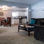 living room space suite rental in golden